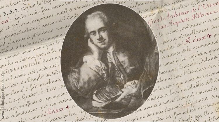 La soie et le compas : J.-B. Willermoz (1730-1824)