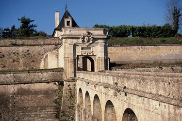 La Citadelle de Blaye (Bordeaux) où siégeait le régiment Foix-infanterie