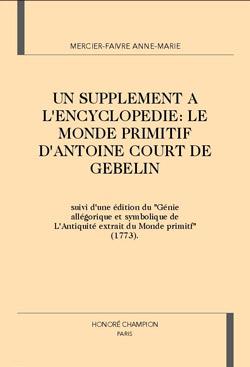 mercier-faivre-anne-marie-supplement-encyclopiedie-monde-primitif