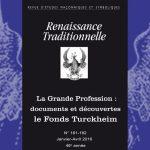 Renaissance Traditionnelle n° 181-182