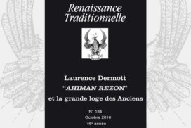 Renaissance Traditionnelle n° 184