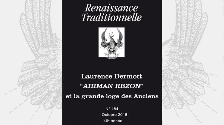 Renaissance Traditionnelle n° 184