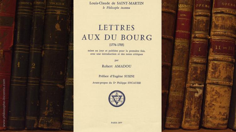 Lettres aux Du Bourg