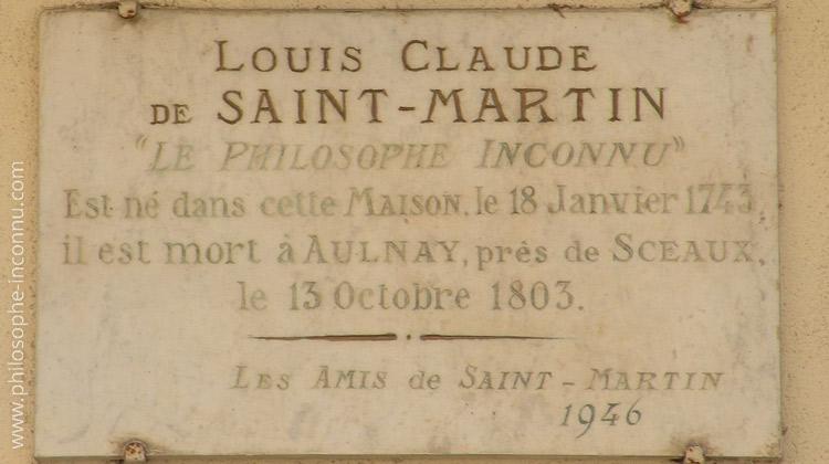 Inauguration de la plaque commémorative sur la maison natale de Louis-Claude de Saint-Martin le 25 août 1946