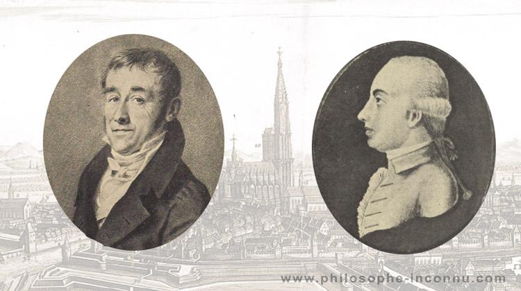 Charlotte de Boecklin et Frédéric-Rodolphe Saltzmann