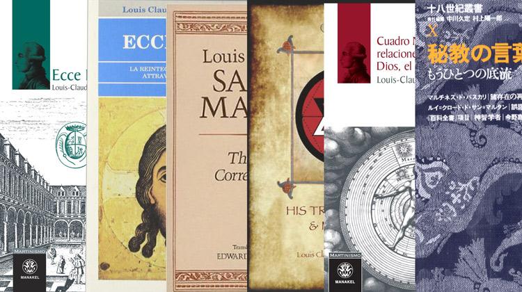 Les éditions des oeuvres de Saint-Martin dans les autres langues