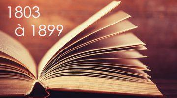 Bibliographie saint-martinienne : 1 De 1803 à 1899
