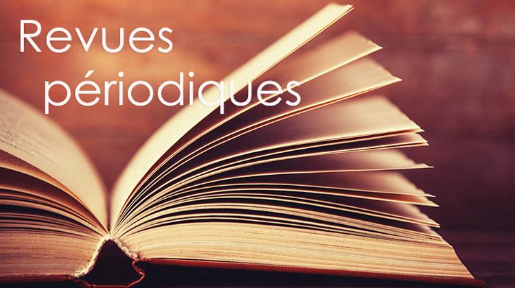 Bibliographie saint-martinienne :  3 Revues et périodiques