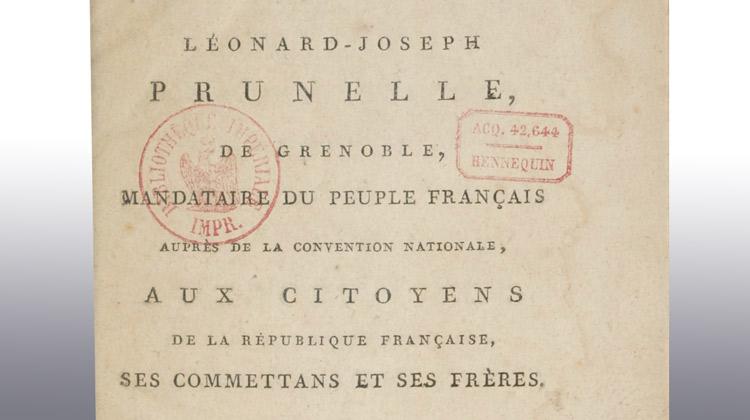 Léonard Joseph Prunelle de Lière (1740-1828)