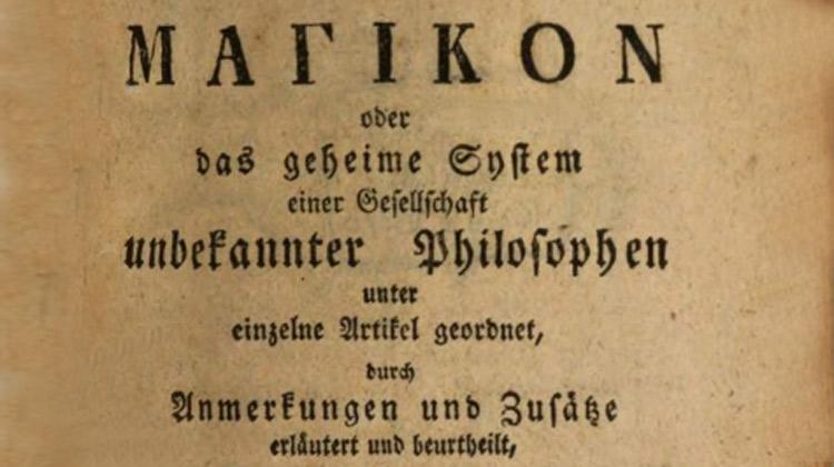 De Saint-Martin à Baader : Le Magikon de Kleuker