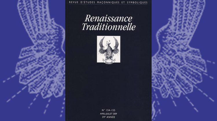 Renaissance Traditionnelle – n° 154-155 – Avril-juillet 2009