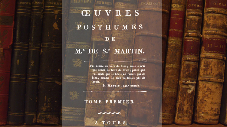 Œuvres posthumes – tomes 1 et 2