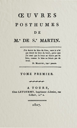 saint-martin-oeuvres-posthumes-t1