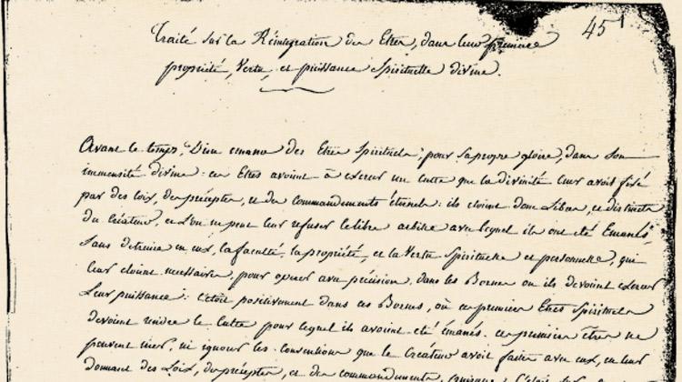 Le Traité sur la réintégration des êtres : 1 – Les manuscrits