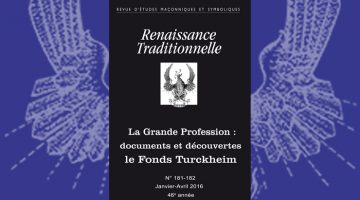 Renaissance Traditionnelle n° 181-182