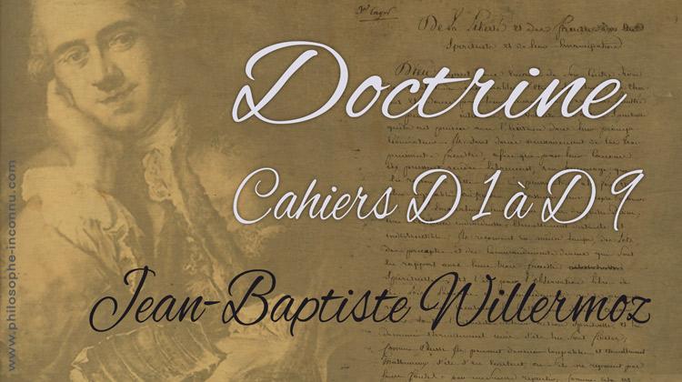 Les cahiers d'instructions destinés au fils de Jean-Baptiste Willermoz