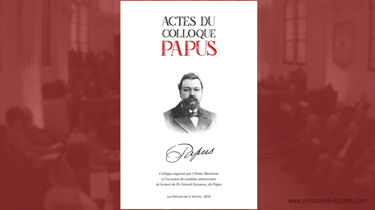 Actes du colloque Papus
