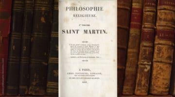 Livre de Guttinguer, Philosophie religieuse Saint-Martin
