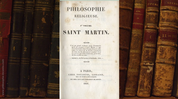 Philosophe religieuse – 1re volume – Saint-Martin – Ulrich Guttinguer