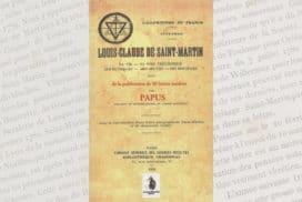 Livre, Louis-Claude de Saint-Martin par Papus