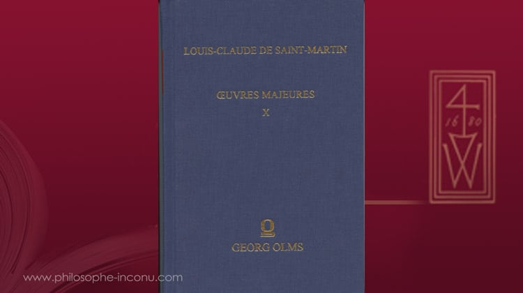 Louis-Claude de Saint-Martin, Instructions sur la Sagesse & Suite d'instructions sur un autre plan,