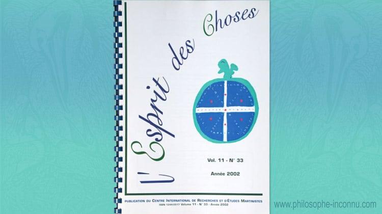 Revue L'Esprit des Choses, 1992-2002