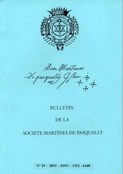 Bulletin de la Société Martinès de Pasqually
