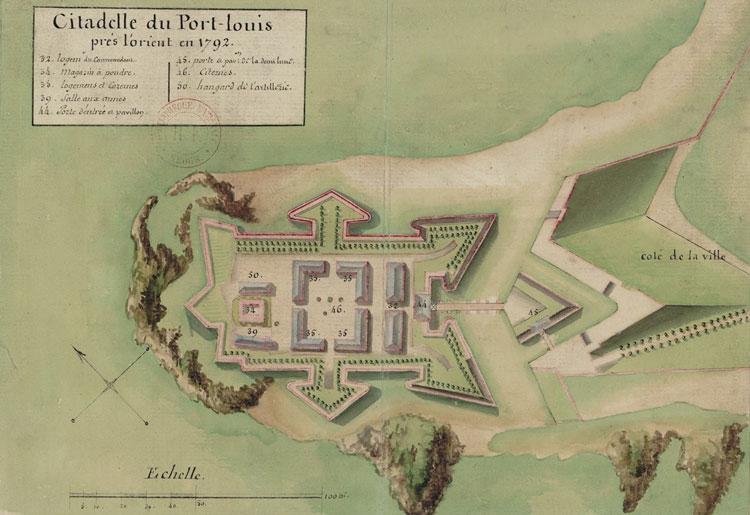 Citadelle de Port Louis à Lorient