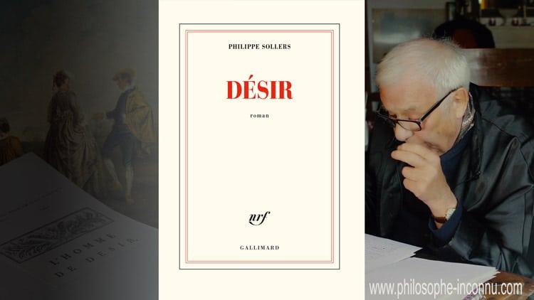Désir, Philippe Sollers et le Philosophe inconnu (roman)