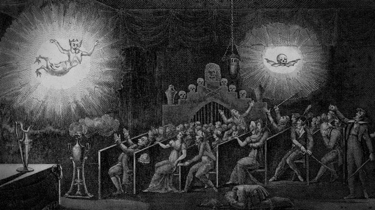 La lanterne magique, théurgie et prestidigitation