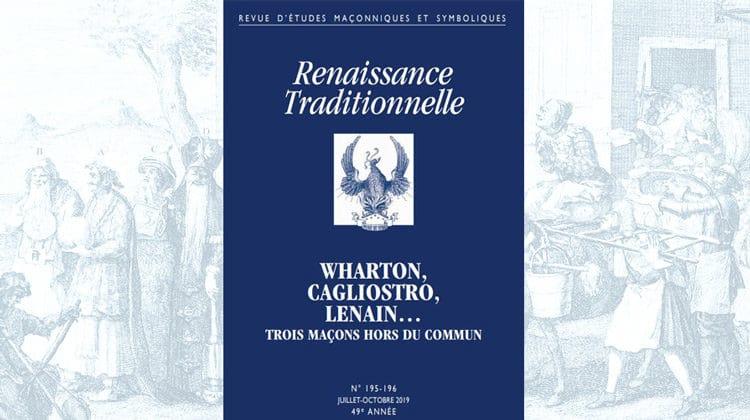 Renaissance Traditionnelle n° 195-196 – juillet-octobre 2019