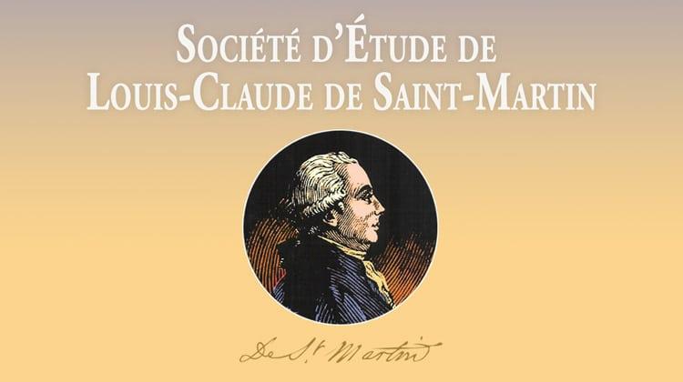 La Société d'étude de Louis-Claude de Saint-Martin