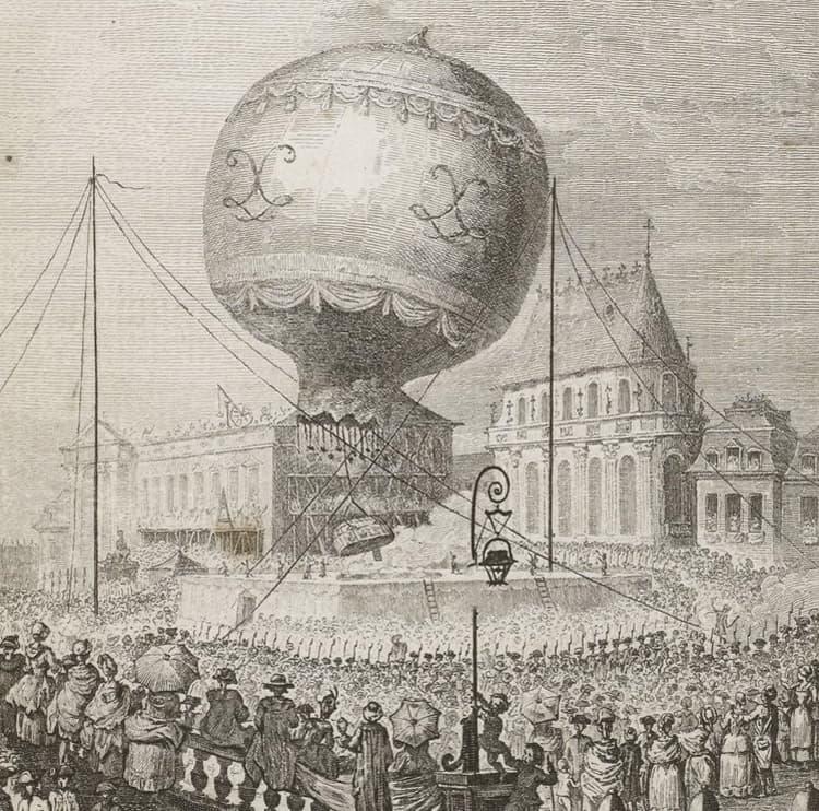 Montglofière, Versailles 19 septembre 1783