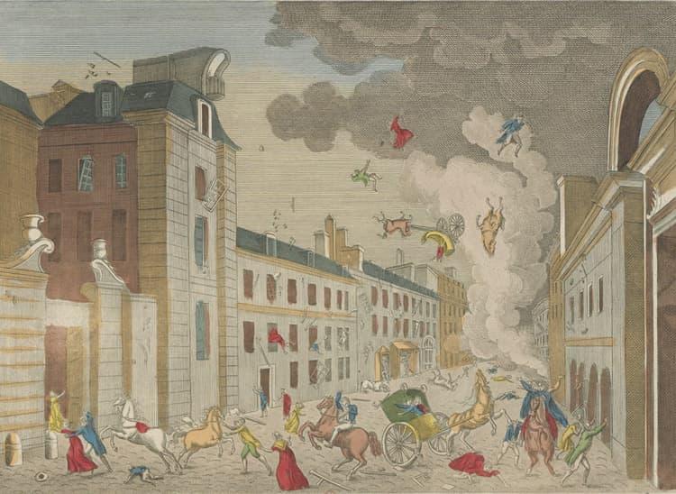La machine infernale, attenta contre Bonaparte