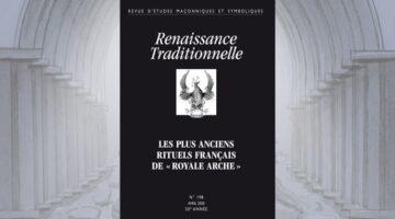 Renaissance Traditionnelle revue d'études maçonniques