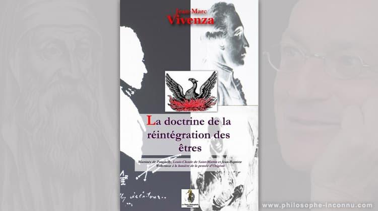 La Doctrine de la réintégration des êtres, par Jean-Marc Vivenza