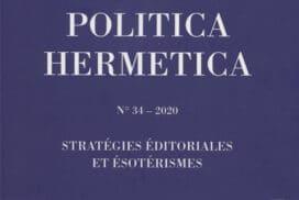 Revue Politica Hermetica n° 34 - 2020