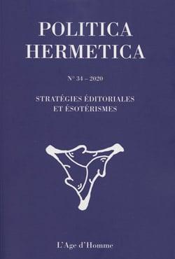 Revue Politica Hermetica n° 34