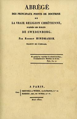 Swedenborg, abrégé de sa doctrine