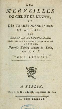 Swedenborg : Le ciel et l'enfer