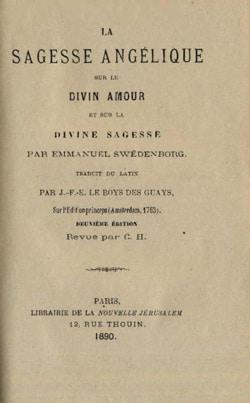 Emmanuel Swedenborg : La Sagesse Angélique